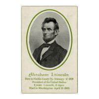 Image: Abraham Lincoln Memorial Post Card