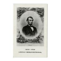 Image: Lincoln Sesquicentennial, 1809-1959