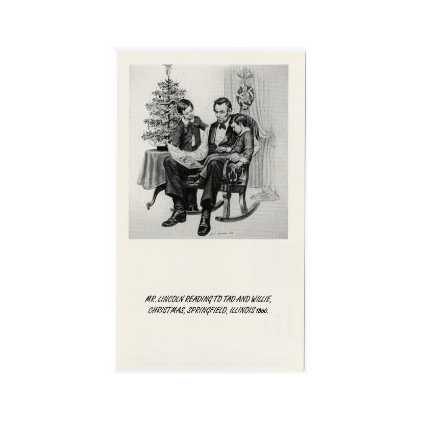 Image: Christmas with the Lincolns