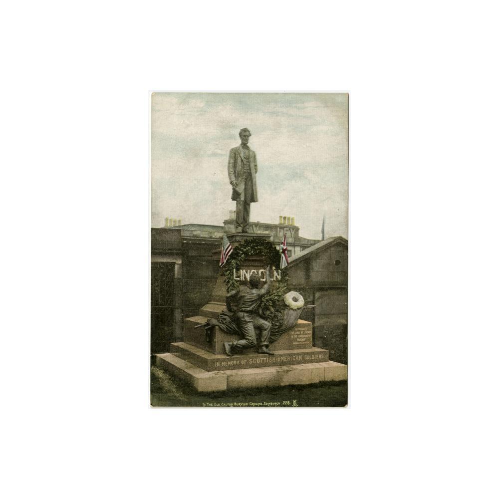 Image: In the Old Calton Burying Ground, Edinburgh