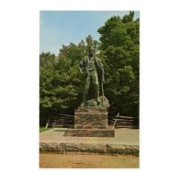 Image: Lincoln Statue in New Salem State Park