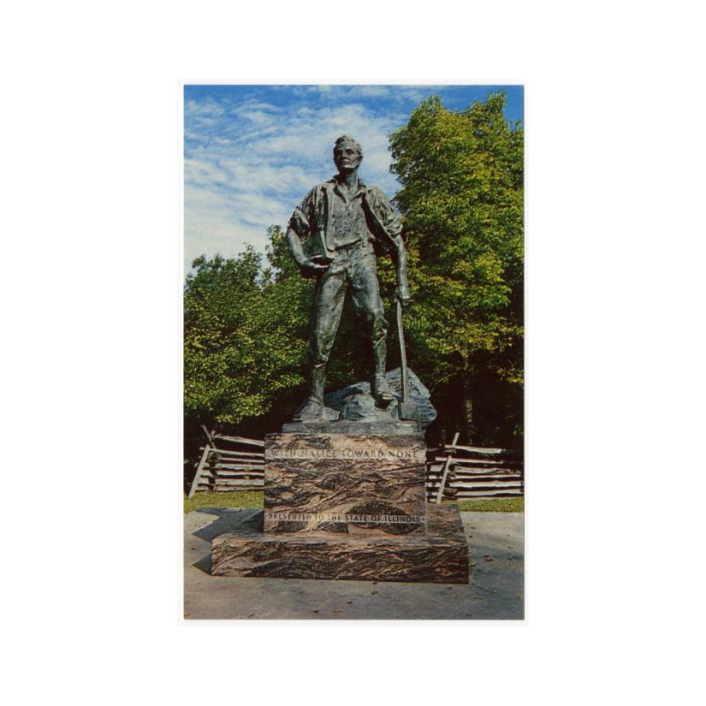 Image: Lincoln, the Rail Splitter