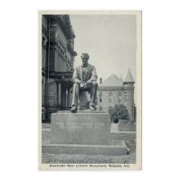 Image: Alexander New Lincoln Monument, Wabash, Ind.