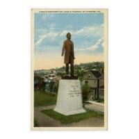 Image: Lincoln Monument on Lincoln Highway, Wilkinsburg, Pa.