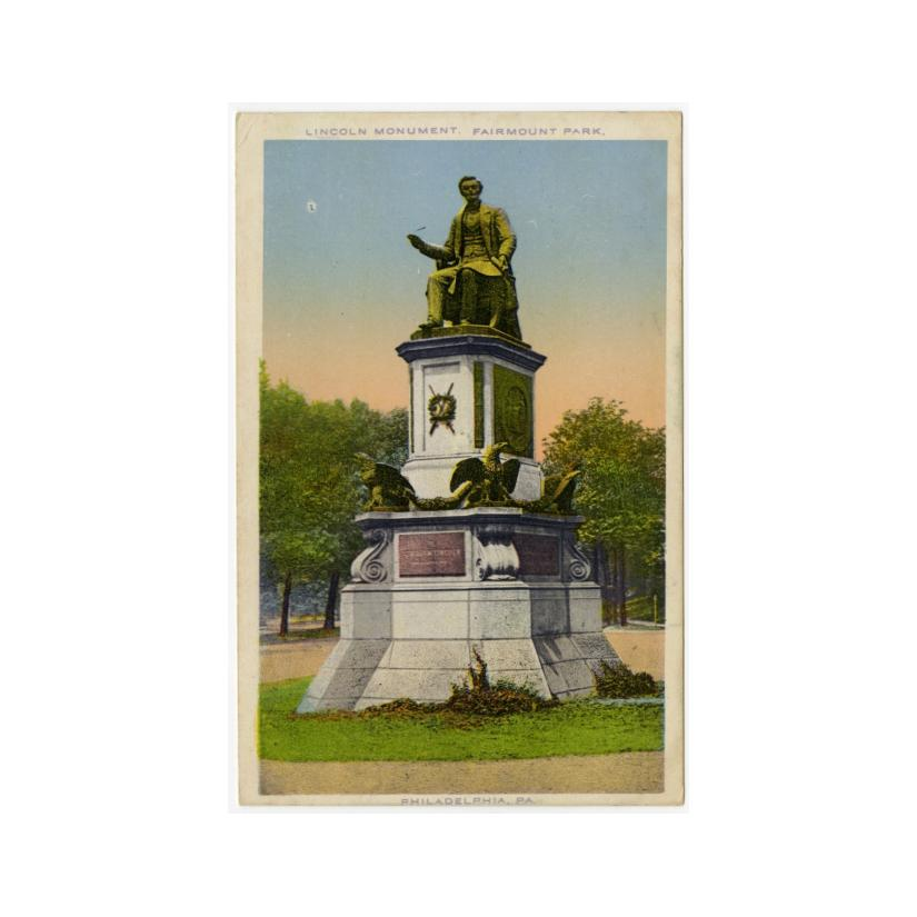 Image: Lincoln Monument, Fairmount Park
