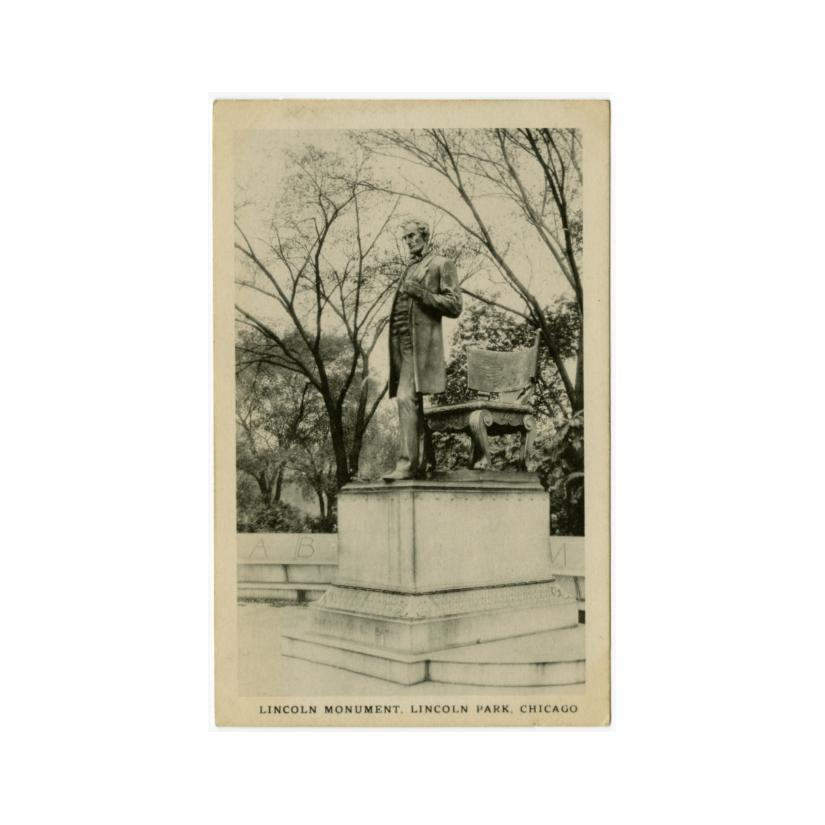Image: Lincoln Monument, Lincoln Park, Chicago