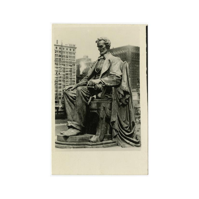 Image: Chicago, Lincoln Monument, Grant Park