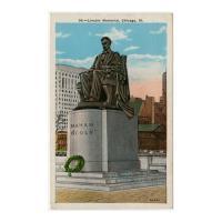 Image: Lincoln Memorial, Chicago, Ill.