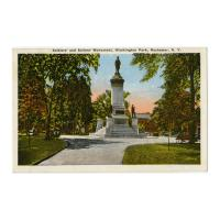 Image: Soldiers' and Sailors' Monument, Washington Park, Rochester, N. Y.