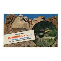 Image: Greetings from Mt. Rushmore, S. D.