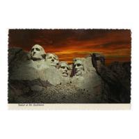 Image: Sunset at Mt. Rushmore