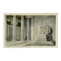 Image: Interior of Lincoln Memorial, Washington, D. C.