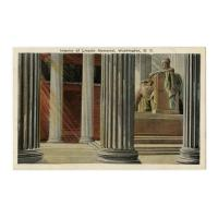 Image: Interior of Lincoln Memorial, Washington, D. C.