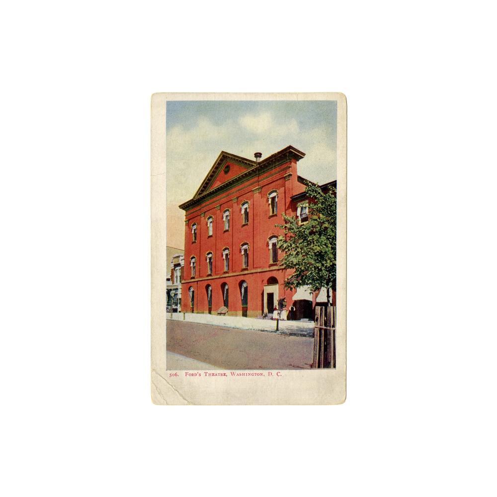Image: Ford's Theatre, Washington, D. C.