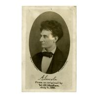 Image: A. Lincoln, from an Original by W. H. Masters, July 4, 1856