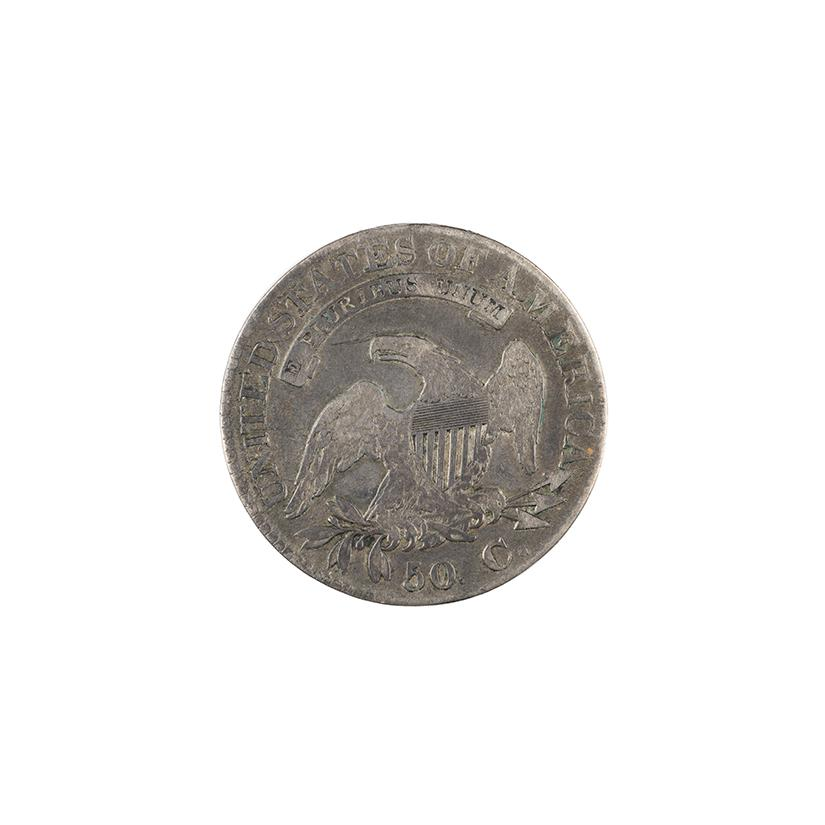 Image: 1824 Liberty Bust Fifty-cent piece
