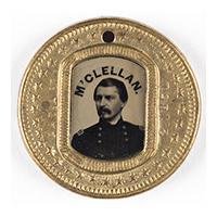 Image: George B. McClellan button
