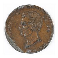Image: The President of the U. S. 1861 medal