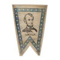 Image: Abraham Lincoln pennant