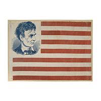 Image: Lincoln 1860 campaign flag