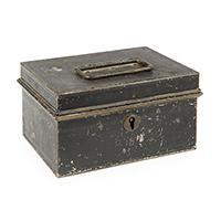 Image: Robert Todd Lincoln's Metal Lock Box