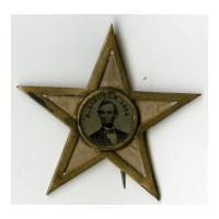 Image: Abraham Lincoln 1864 Campaign Button
