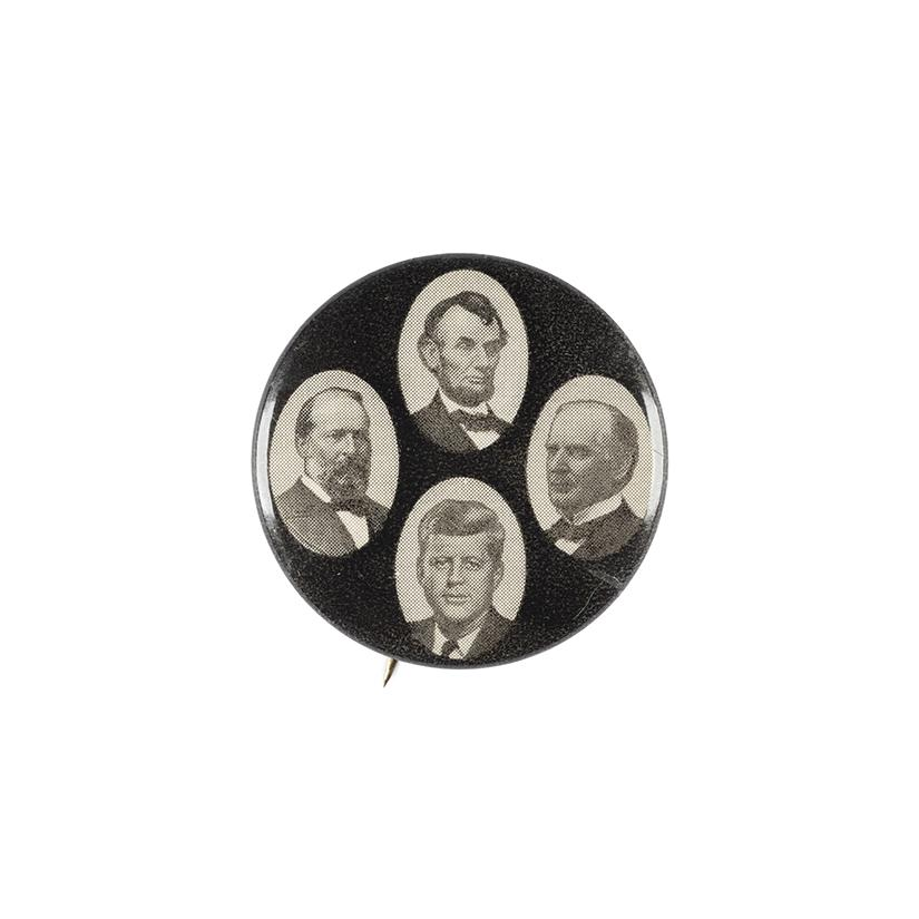 Image: Assassinated Presidents pin